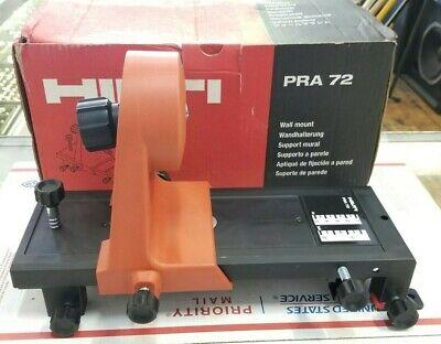Hilti Wall Mount Bracket Pra 72 Rotary Laser Level Measuring System