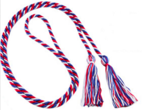 Red, White, Blue, Eagle Scout Graduation Honor Cord