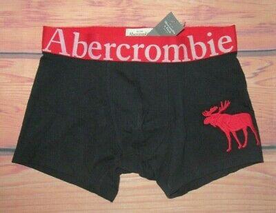 MENS ABERCROMBIE & FITCH BIG MOOSE DARK BLUE BOXER BRIEF SIZE S (29/30)