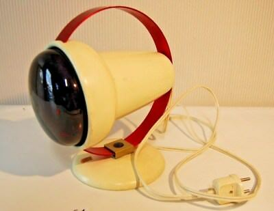 E1 Ancienne lampe PHILIPS vintage 60' Charlotte Perriand INFRAPHIL