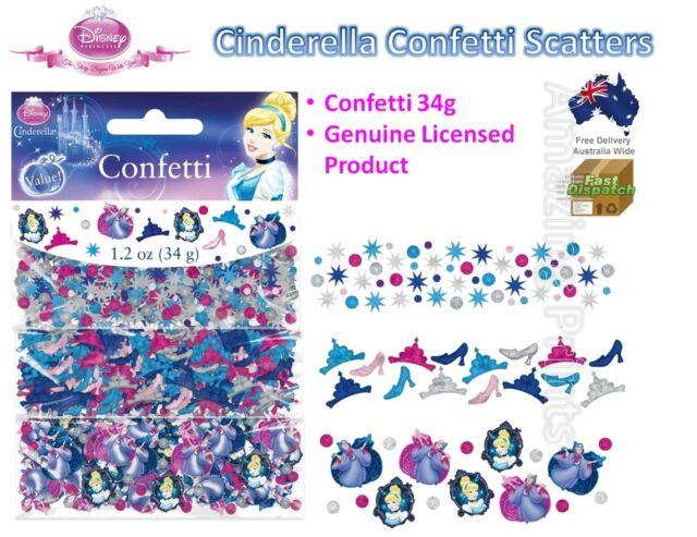 Cinderella Party Confetti Scatters Decorations Disney Princess Birthday Supplies
