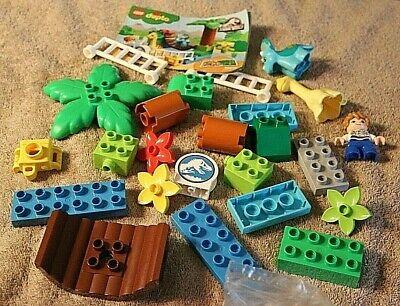 Lego Duplo 10879 Jurassic World ... complete w/instructions