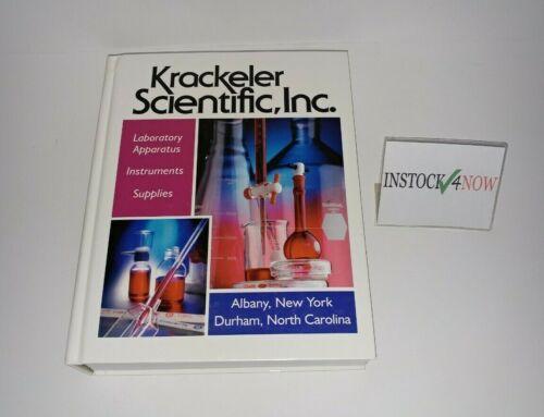 Krackeler Scientific 98 / 99 Catalog Laboratory Apparatus Instruments Supplies