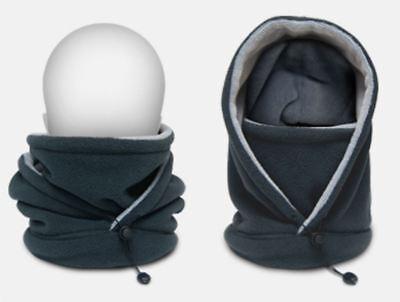 Monopalm Gray Multi Neck Warmer, Gaiter Tube Fleece Free Size Tracking Number