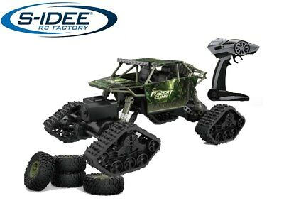 RC s-idee® HB-LD1801 1:18 Off-Road Crawler 4WD Rally Auto mit REIFEN und KETTEN ()