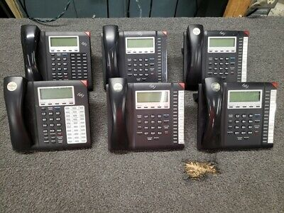 6 Esi Digital Business Phones 55d 40d See Pictures Nice Condition