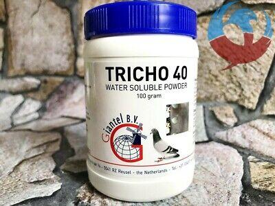 GIANTEL TRICHO 40 100g PIGEONS BIRDS TREATMENT CURE TRICHOMONIASIS HEXAMITIASIS