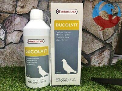 VERSELE LAGA DUCOLVIT 500ml MULTI VITAMINS LIQUID CONCENTRATE PIGEONS BIRDS YBS