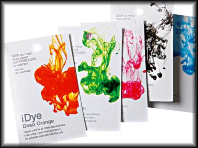 Jacquard iDYE & iDYE Poly  - Vibrant Color dye sachet that disolves in water