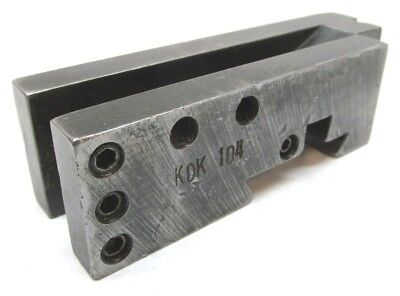 Kdk-104 Parting Bar Combination Quick-change Holder - 12 To 16 - Missing Clamp