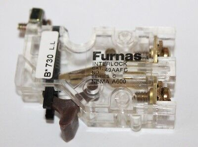 Furnas Interlock, N/C, Series C, 49AAFC,   NOS  normally closed interlock