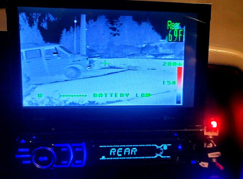 WeatherProof Thermal Imager Infrared Camera FLIR 320 x 240 NTSC Video Out 12vdc
