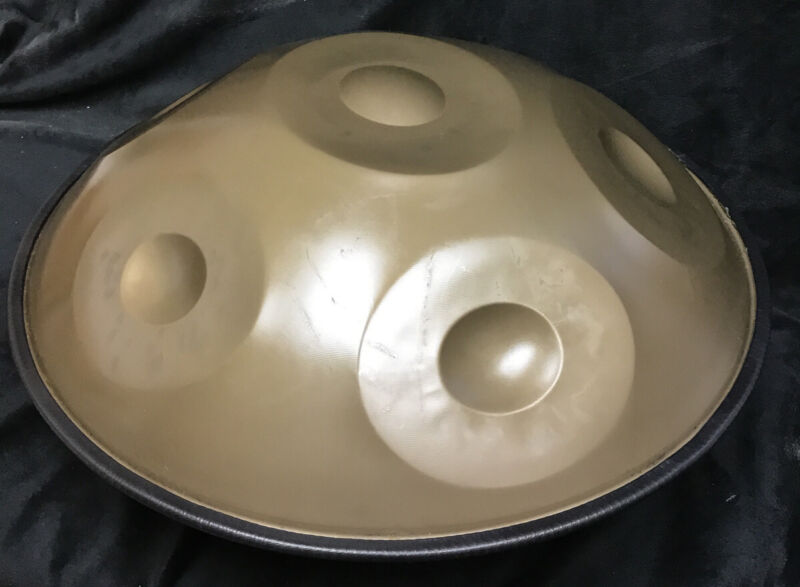 Harmonic Handpan - Steel Hand Drum Hand Pan And Drum Bag, 6 Notes A