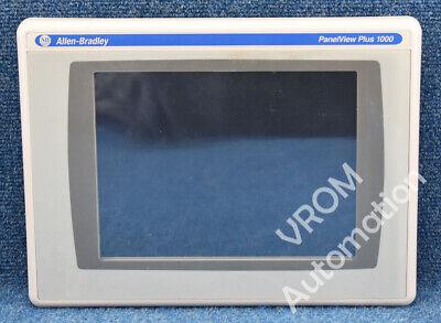 Allen Bradley 2711p-rdt10c B New Film Panelview Plus 6 1000 Touch Color 10.4
