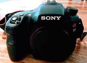 Sony a57 with box Campbelltown Campbelltown Area Preview