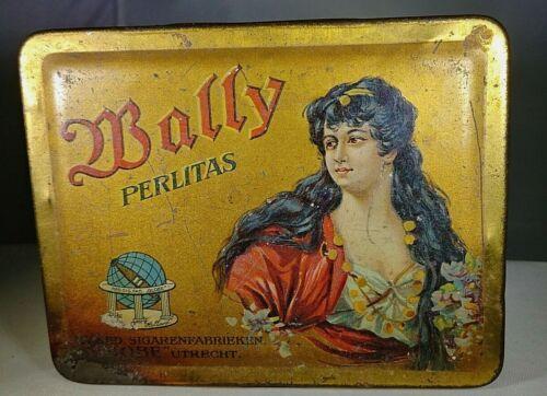 Bally Perlitas Cigar Tin ( Empty)