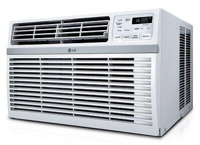 LG LW1015ER - 10,000 BTU Window A/C: Remote & Window Accessories Included