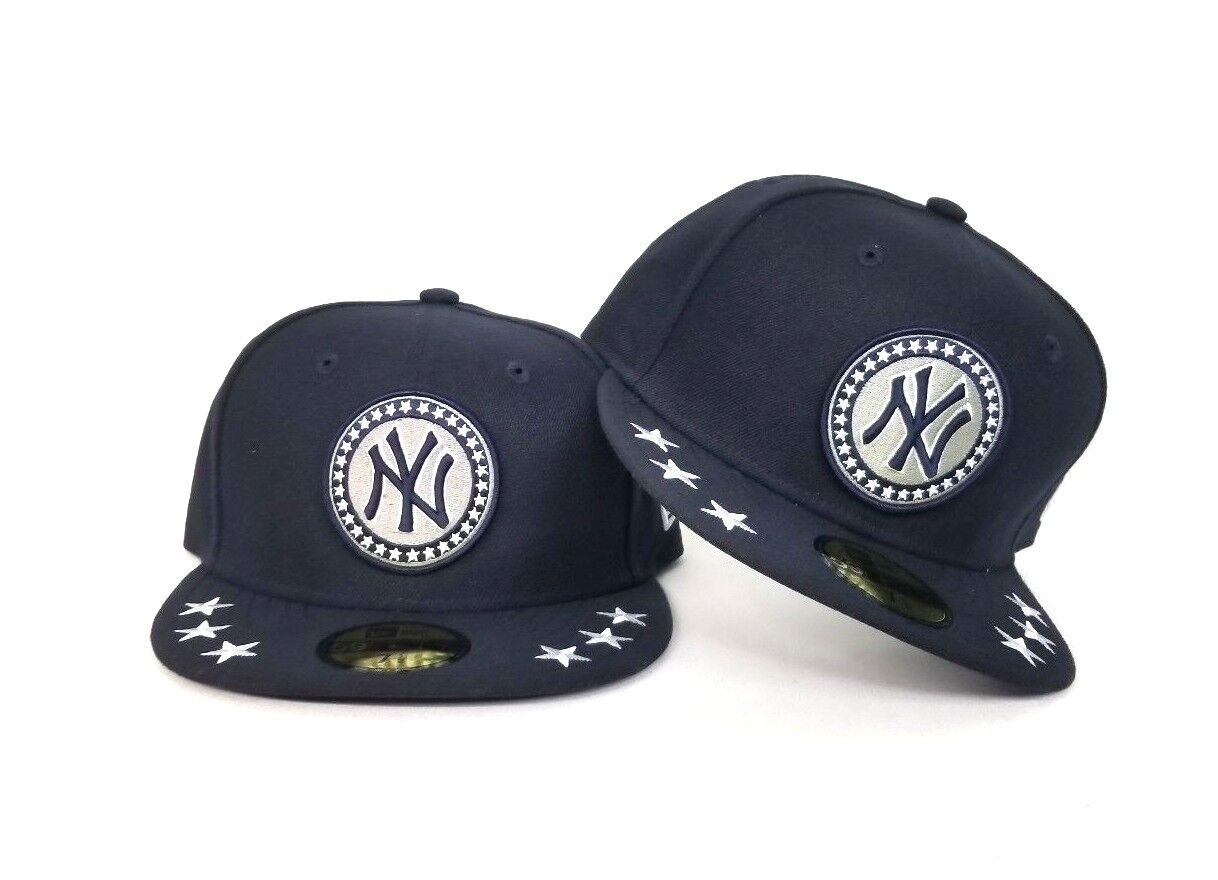a99a53e1e11 New Era Navy Blue New York Yankees All Star Game 59fifty Fitted Hat ...