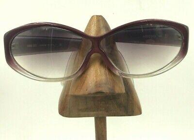 Anna Sui AS52303 Purple Gradient Gray Oval Oversized Eyeglasses Frames (Anna Sui Sunglasses)
