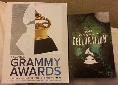 2017 GRAMMY AWARDS PROGRAM+AFTER PARTY CELEBRATION TICKET LOT ADELE GAGA BEYONCE
