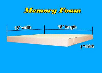 Upholstery Memory Foam Square Sheet Regular Density 1
