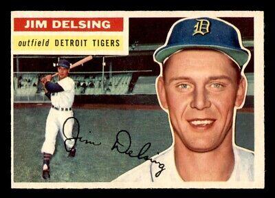1956 Topps Jim Delsing #338 NM *3