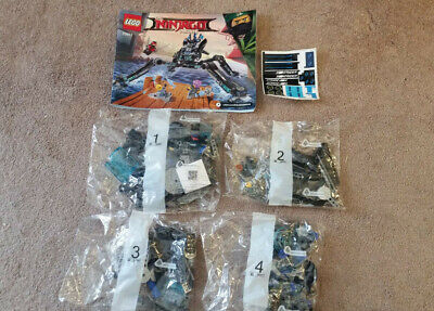 LEGO 70611 The Ninjago Movie Water Strider 494 pc. New without Box