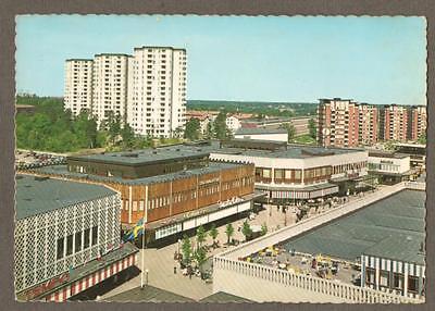 Stockholm. 1960's. Farsta Centrum vintage postcard. Sweden.    n.133