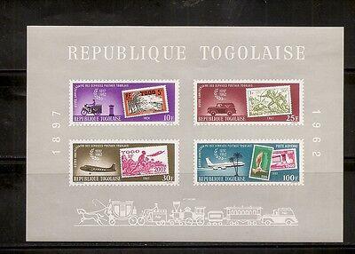 Togo SC # C34a Mail Service. Souvenir sheet. MNH