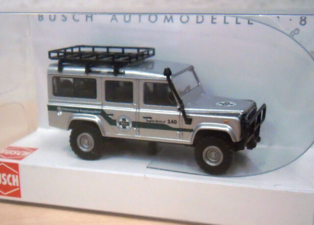 """Busch - Land Rover Defender """"Bergwacht/Bergrettungsdienst Salzburg"""" (A) - 50384"""
