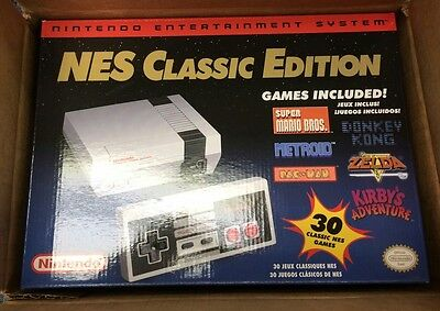 Nintendo NES Classic Edition Mini Console IN HAND