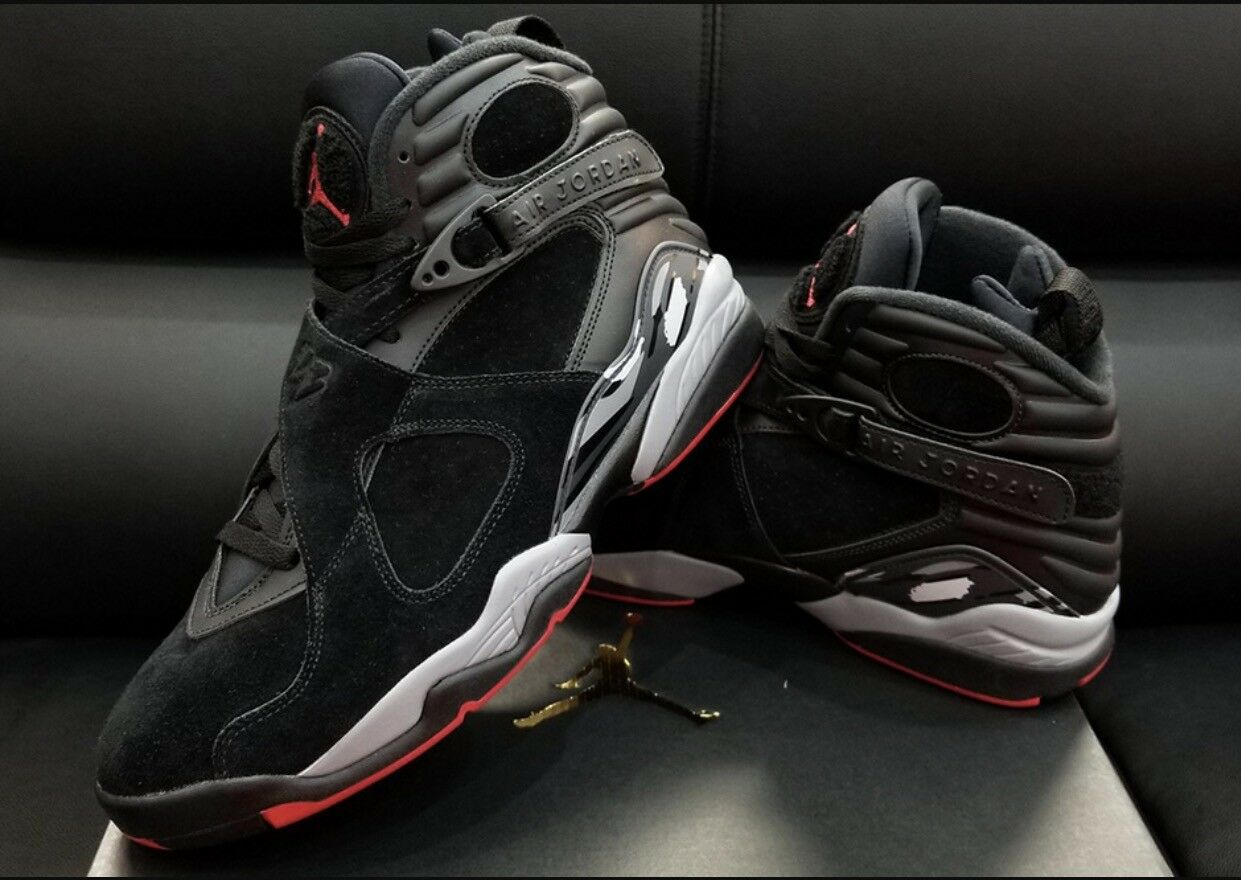 c9e3f4a930e1 Купить Nike Air Jordan 8 VIII Retro Black Cement на eBay.com из ...