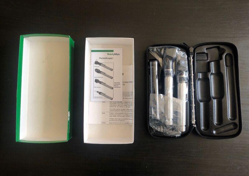 Welch Allyn 2.5v Mini PocketScope Otoscope Ophthalmoscope 92820