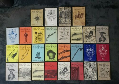 Vintage Lot of The Museum of Historical Arms Catalogs 28 Catalogs!