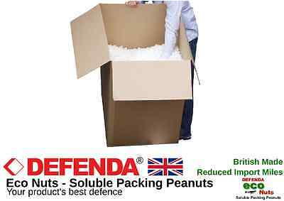 30 CFT Appx. Soluble Environmental NUTS PACKING PEANUTS VOID FILL LOOSE BOXFILL