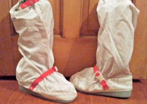 Chemstat 939 Lab Cleanroom Boots Shoe Size Small Cintas Rubber sole clean room