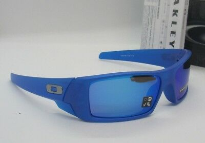 OAKLEY x-ray blue/ PRIZM sapphire iridium GASCAN sunglasses! NEW IN BOX!