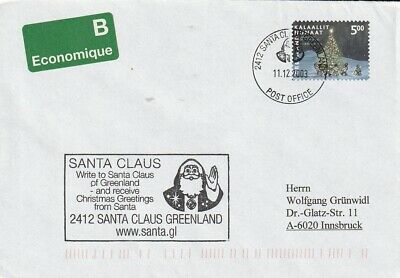 405 auf Brief aus 2412 Santa Claus von 2003 - Weihnachten / 152 ()