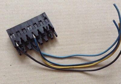 GENUINE VW AUDI WIRING LOOM REPAIR CONNECTOR PLUG SOCKET BLACK 927293