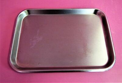 Polar 13ff Stainless Steel Surgical Instrument Mayo Tray 13 58 X 9 78