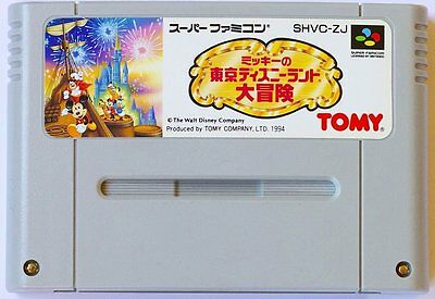 Super Famicom Mickey Mouse in Tokyo Disney Land Japan SFC SNES comprar usado  Enviando para Brazil