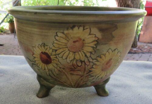 Weller Sunflower 3 Footed Jardiniere
