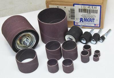 Merit Aluminum Oxide Abrasive Spiral Band Kit Drums Sleeves
