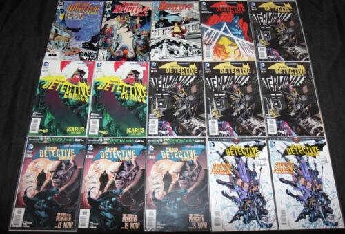 BATMAN DETECTIVE COMICS + ARKHAM UNHINGED + NEW 52 LOT 36PC (VF-NM)
