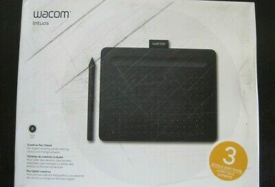 Used, Wacom Intuos Creative Pen Tablet Small Black CTL4100, NEW Open /Damaged Box  for sale  Shipping to India