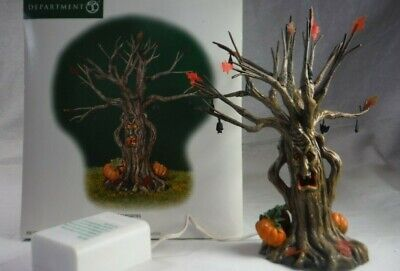 Spooky Lit Halloween Tree (DEPT 56 LIT SPOOKY TREE HERITAGE VILLAGE HALLOWEEN - #52896 ~MINT)