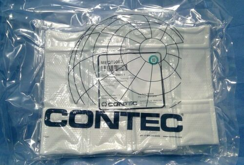 """Contec® MEQT0002 Quiltec Sterile Cleaning 7"""" Mop Head Cover 4-Pack Exp  6/2020"""