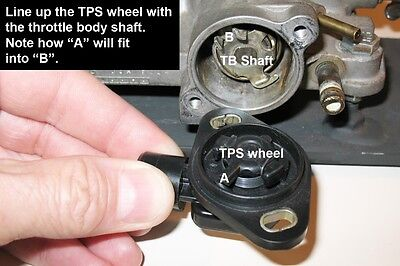 How To Install Your New Dpfi Honda Tps On To The Throttle