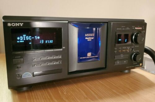 Sony CDP-M555ES 400 Disc CD Compact Disc Changer!  Remote included.