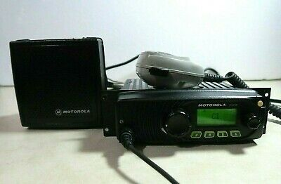 Motorola Xtl1500 Uhf Smartzone P25 Digital Mobile Radio 450-520 Mhz M28sss9pw1an